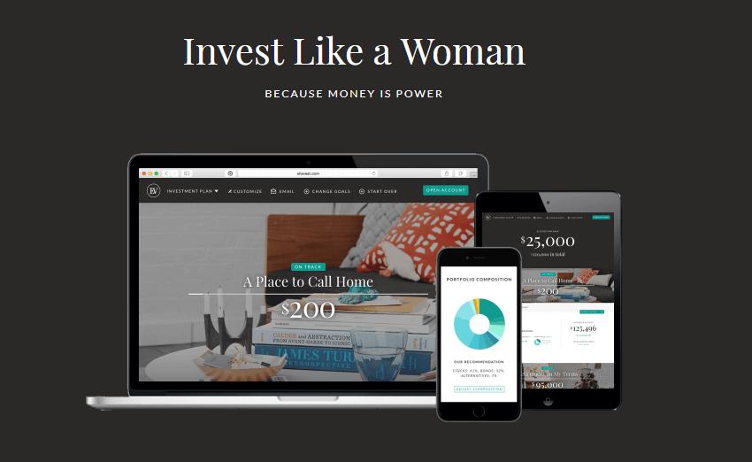 Ellevest Homepage