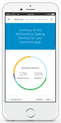 Morgan Stanley Access Investing app