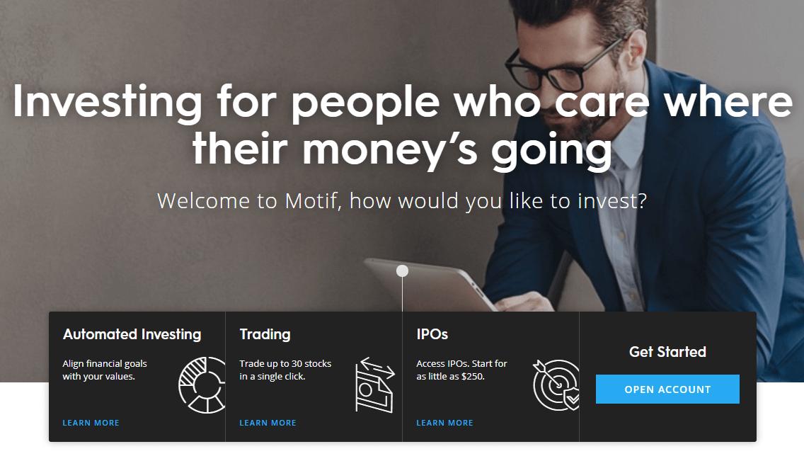 Motif Homepage