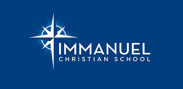 Immanuel logo blue