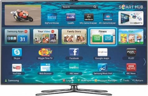 SAMSUNG 3D LED TV UA40ES7500 (40 inch)