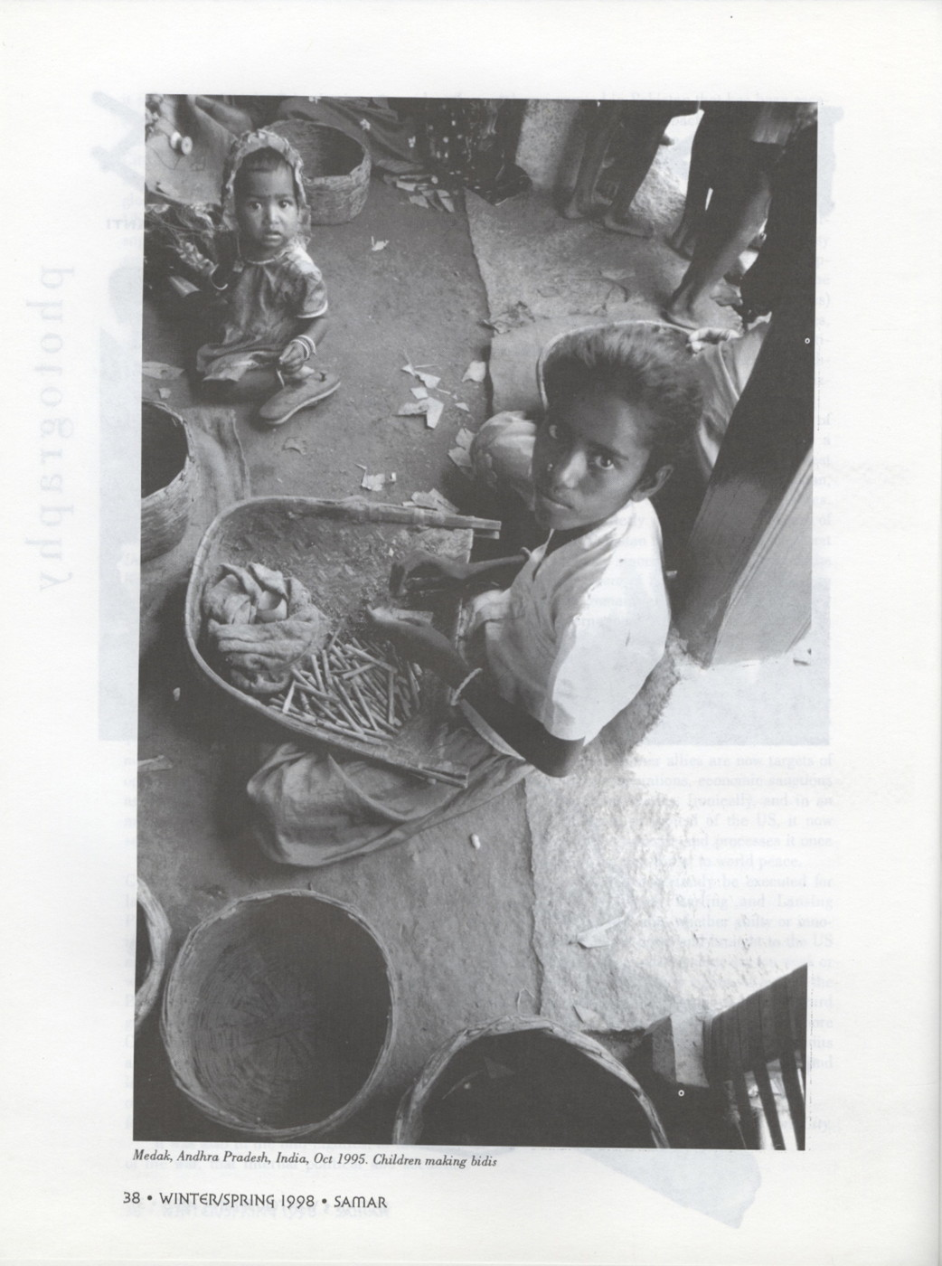 Samar magazine issue 9 winter spring 1998 south asian for Archita ghosh