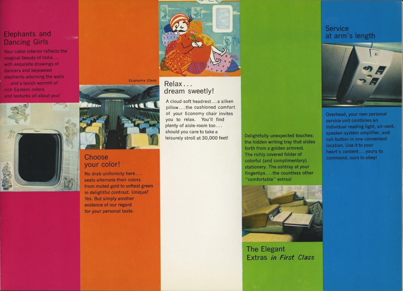 Air India Advertisement Brochure   South Asian American Digital ...