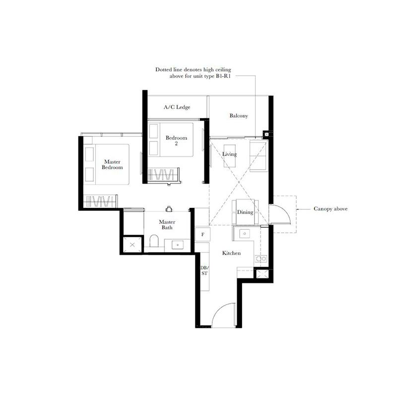The Garden Residences Plans