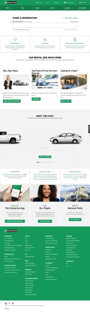 Homepage - enterprise