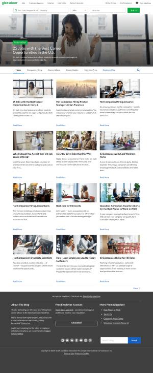 Blog index page - Glassdoor
