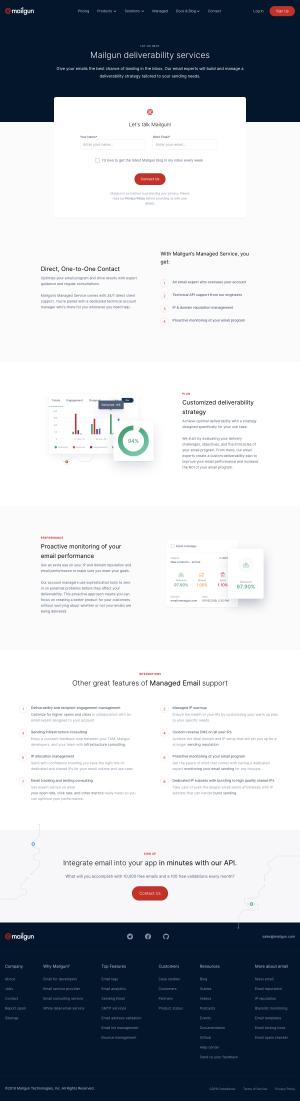 Mailgun - Features page 1