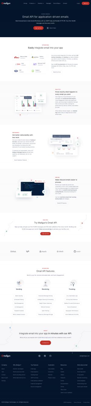 Mailgun - Features page 2