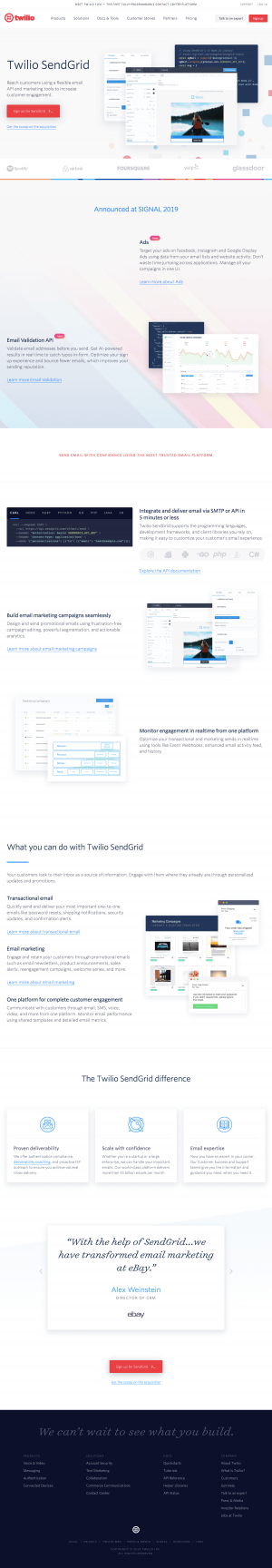 Twilio - Features page 3