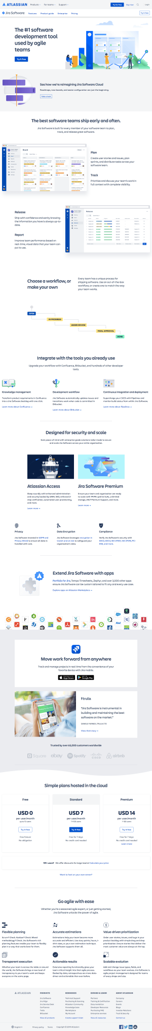 Atlassian - Features page 3