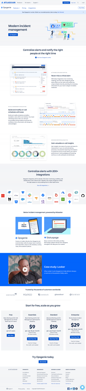 Atlassian - Features page 4