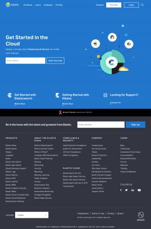 Elastic - Homepage