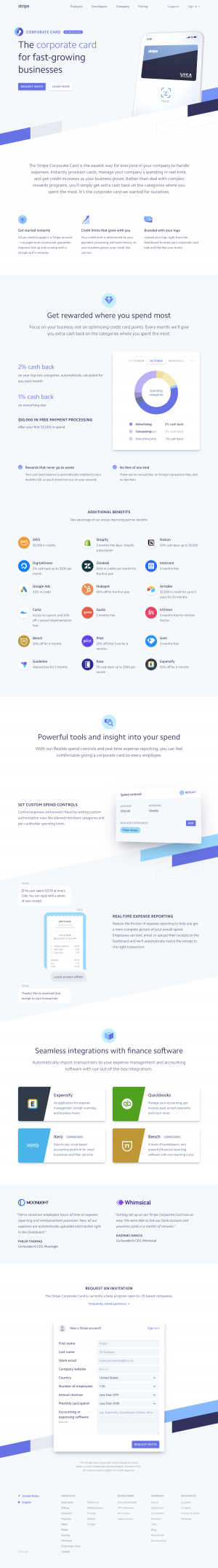 Stripe - Features page 2
