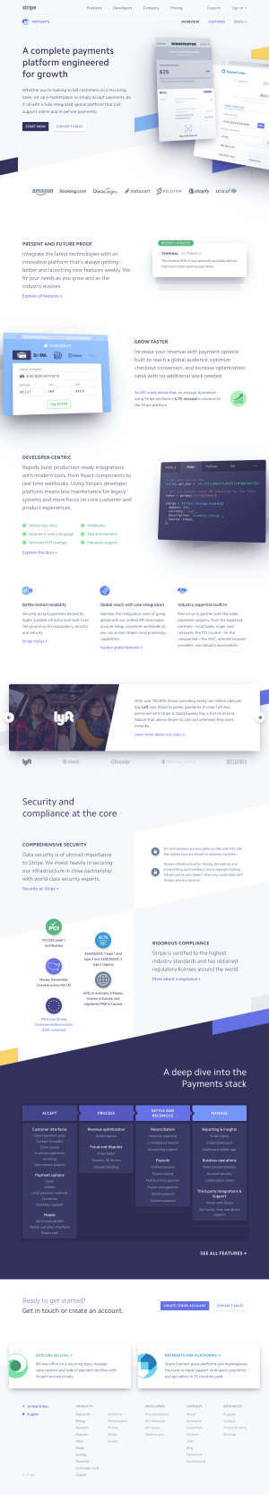 Stripe - Features page 3