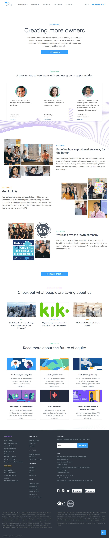 Carta - Career page