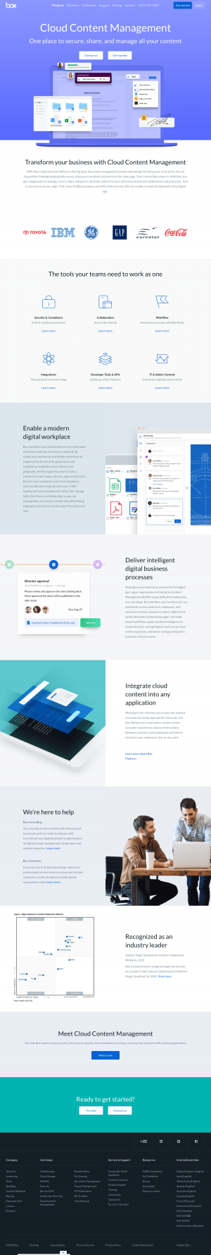 Box – Features page 1