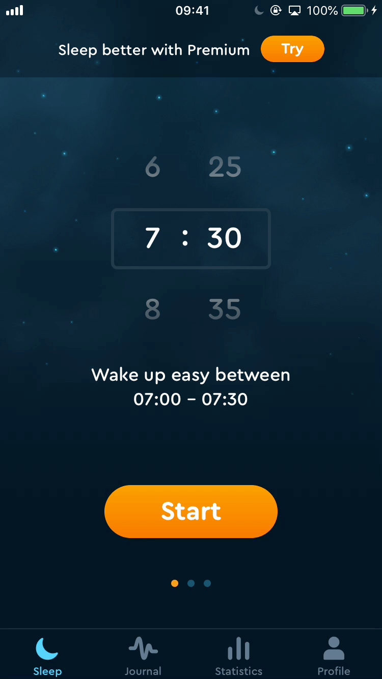Browsing help section - App - Sleep Cycle