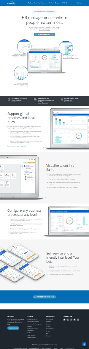 Workday – Features page 2