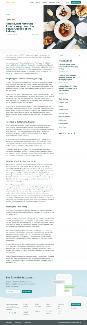 Attentive – Blog Article