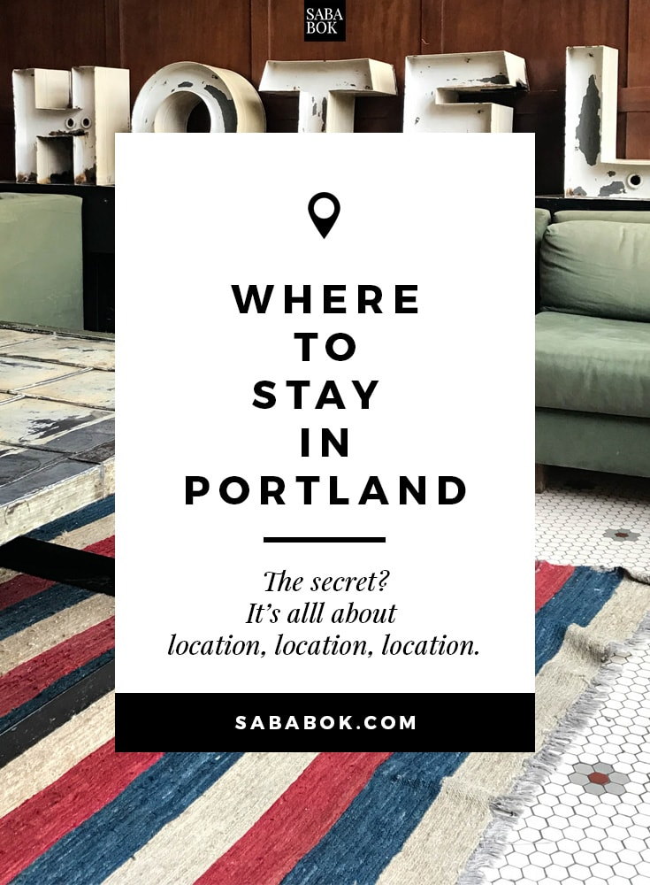 , Where to Stay in Portland