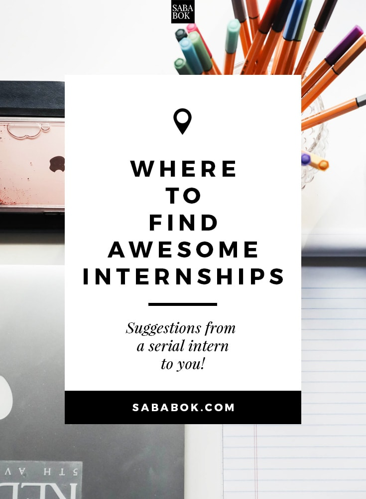 Where To Find Great Internships Min