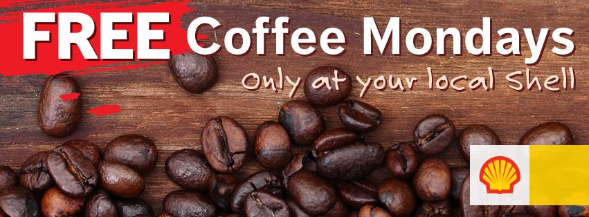 Free coffee mondays