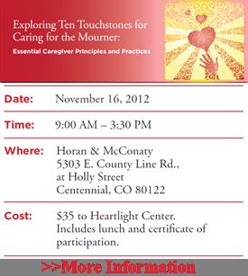 2012-11-16 Wolfelt event