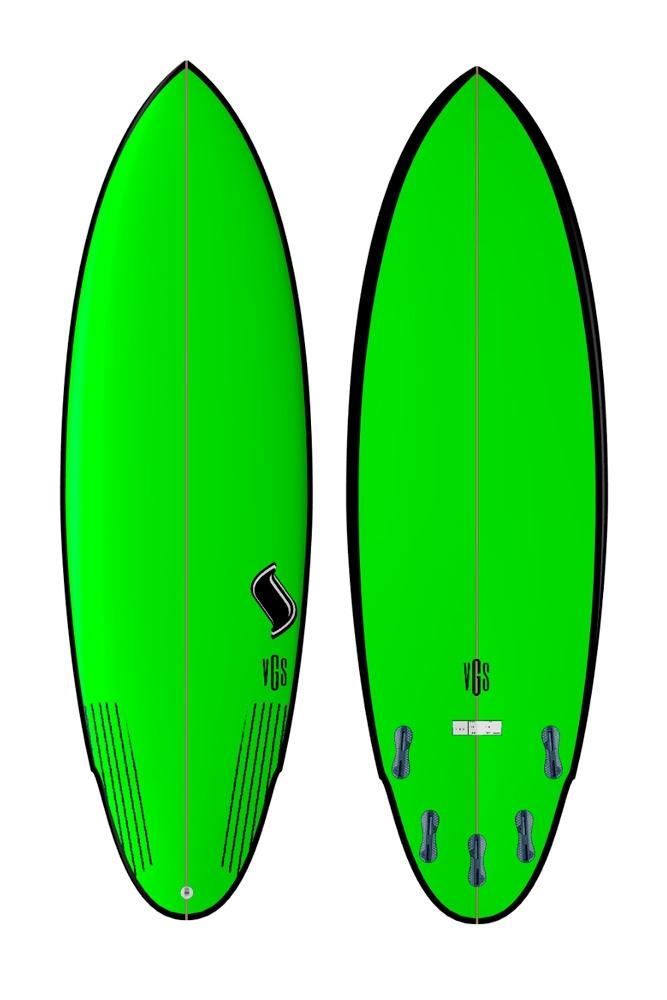 Modelo Bomb  (Green)| Vgs Boards