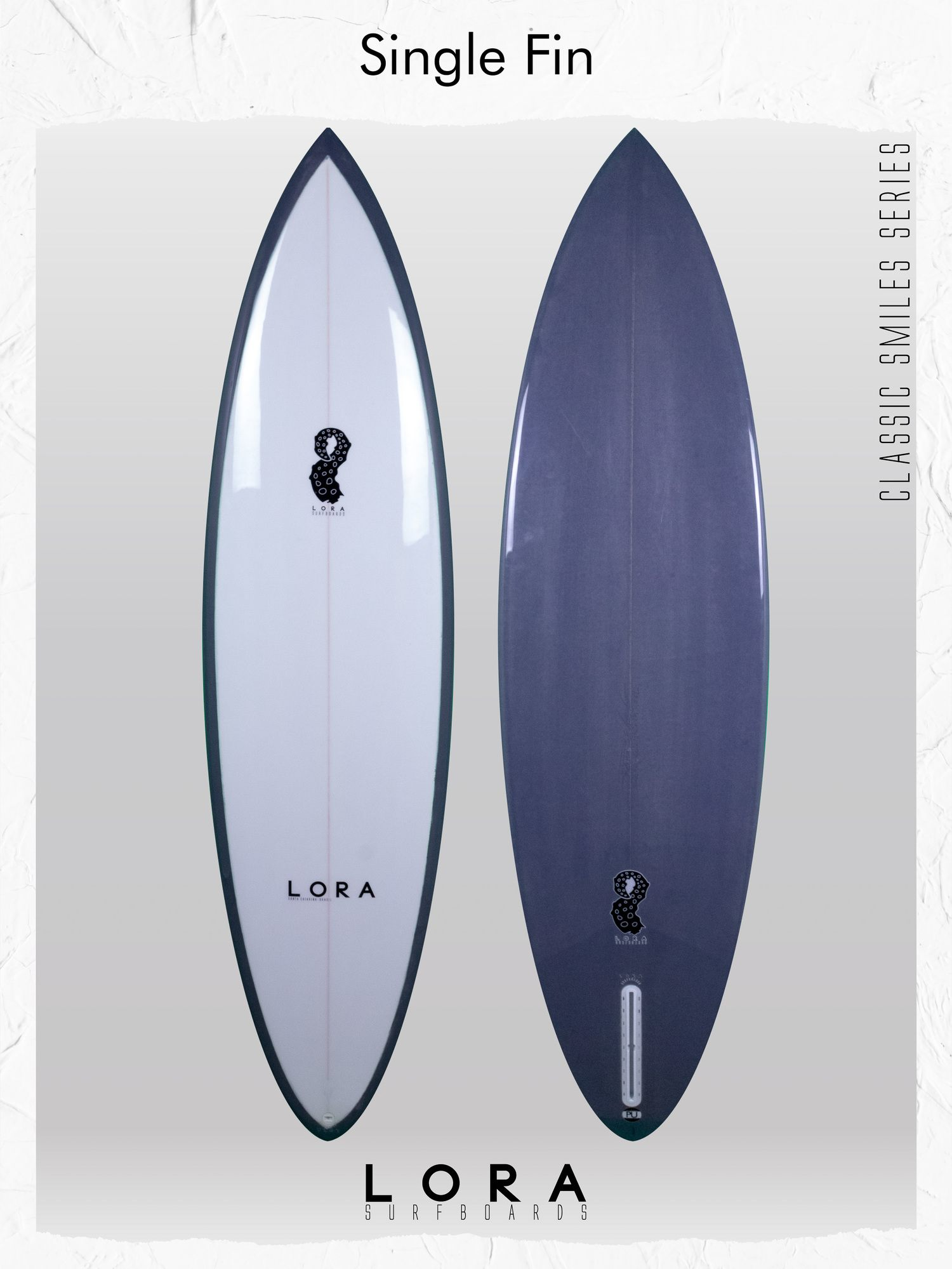 Single Fin - Prancha de surf LORA