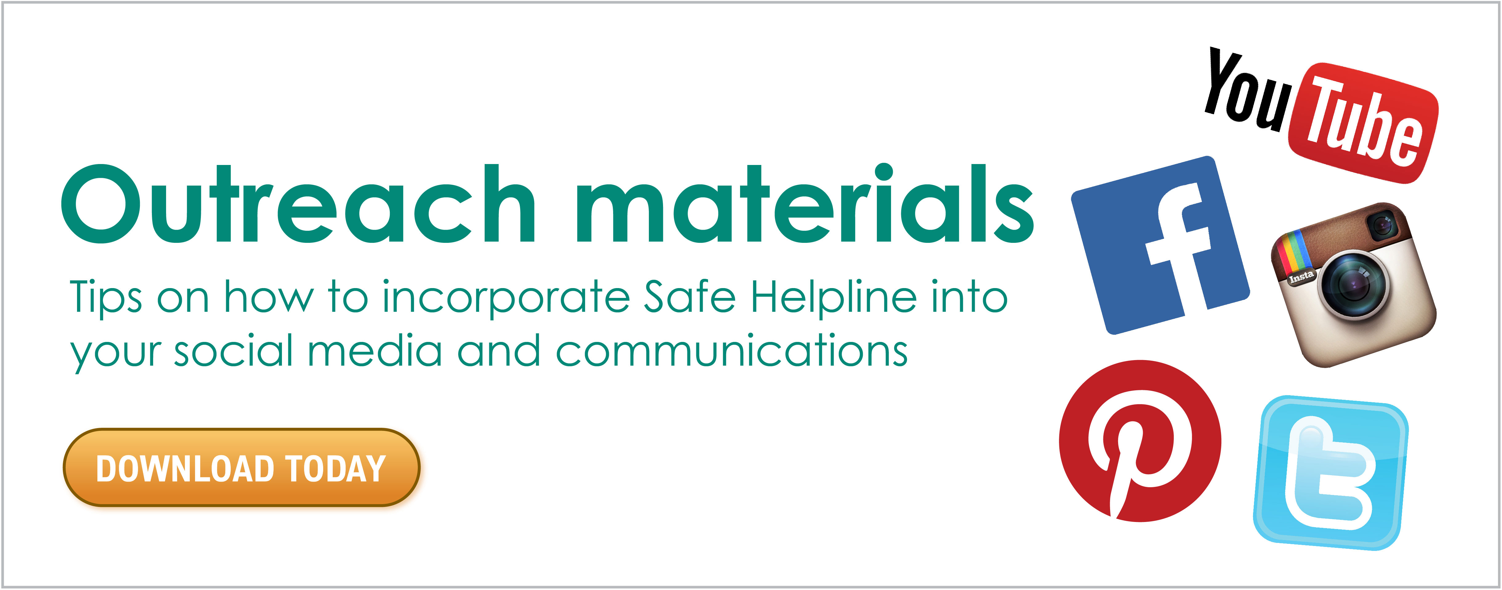 Learn More About Downloadable Outreach Materials