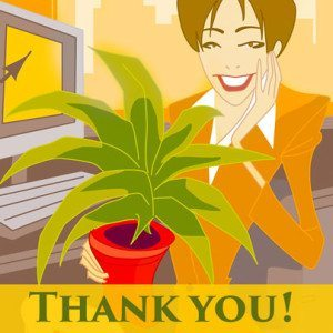 Administrative Professional's Week - thank you