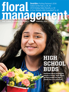 Cover of Floral Managment February 2016