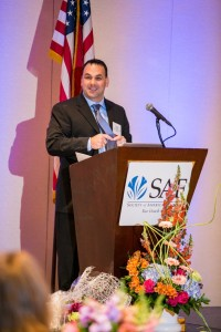CAD emcee and chair of the SAF Government Relations Joint Council Paul Fowle implored attendees to embrace their role as a lobbyist while in Washington, D.C.