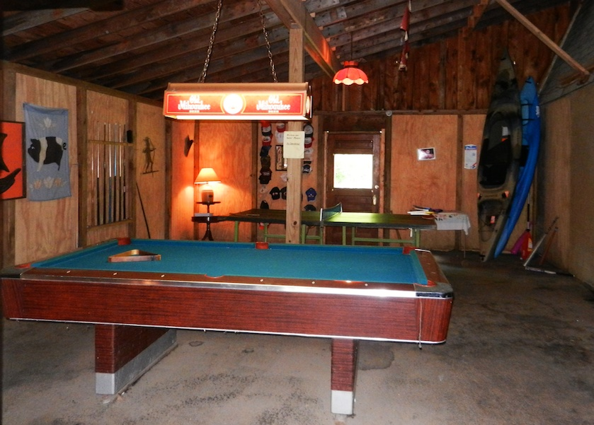 Pool and Ping Pong tables. Barn is also complete with one freezer and two refrigerators.