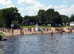 Plage municipale de saint prime saguenay  lac saint jean small