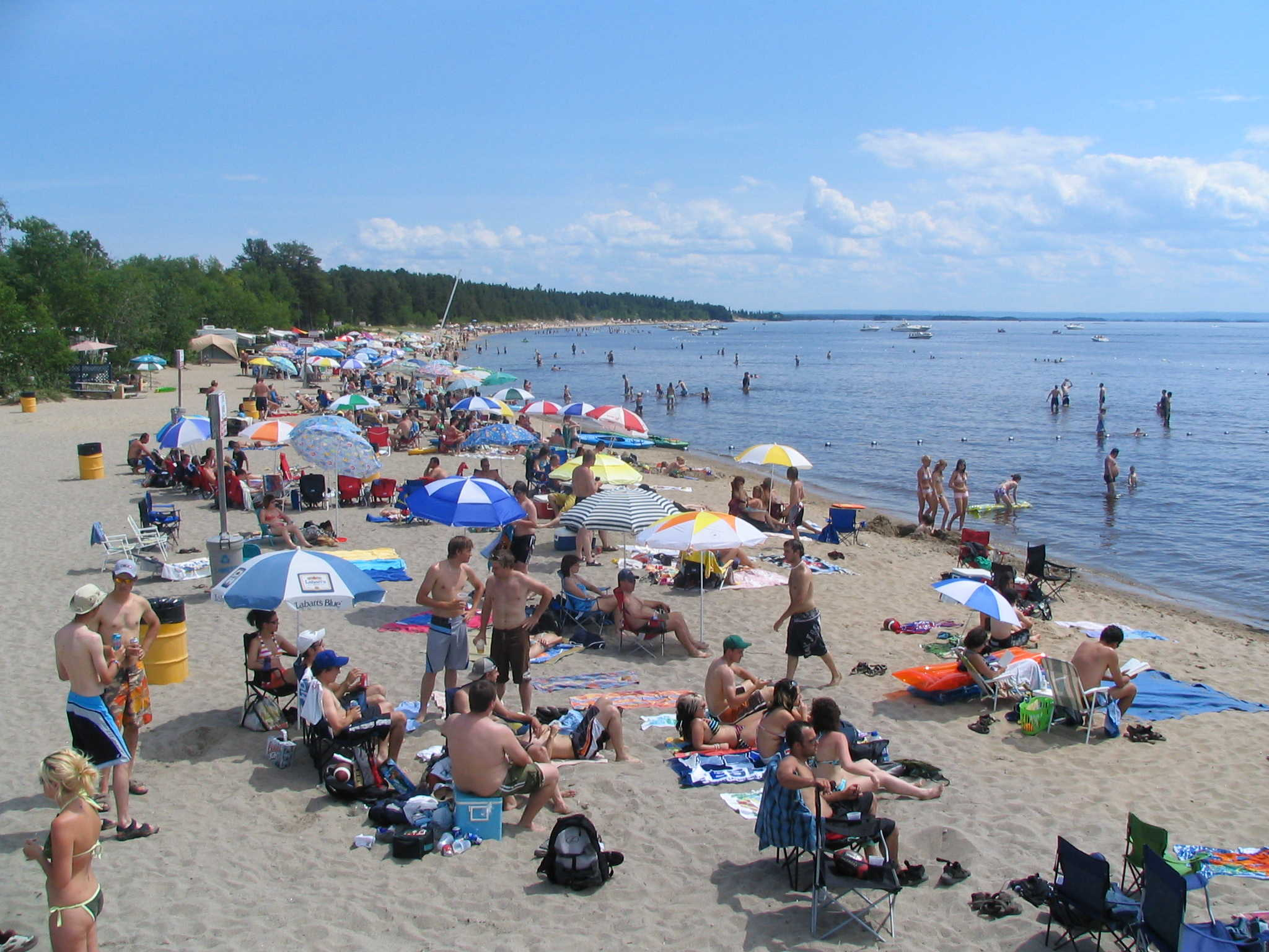 Camping plage belley tourisme saguenay lac st jean for Plan de belley