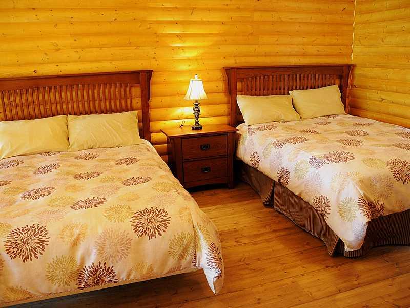 Mezzanine   chalets et spa lac st jean   tourisme saguenay lac st jean big
