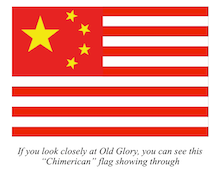 Chimerican flag