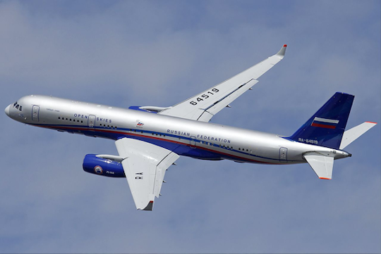 Russian Tu-214ON