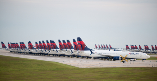Delta Airlines jets