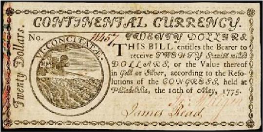 Continental scrip