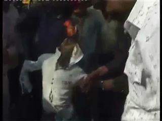 Video : టాప్ డైరెక్టర్ దిష్టిబొమ్మ దహనం!