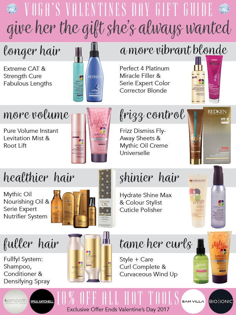 Valentines Hair Gift Guide & Promotions