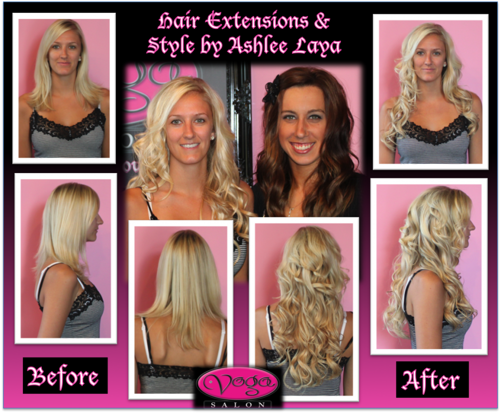 Microlink Hair Extensions at Voga