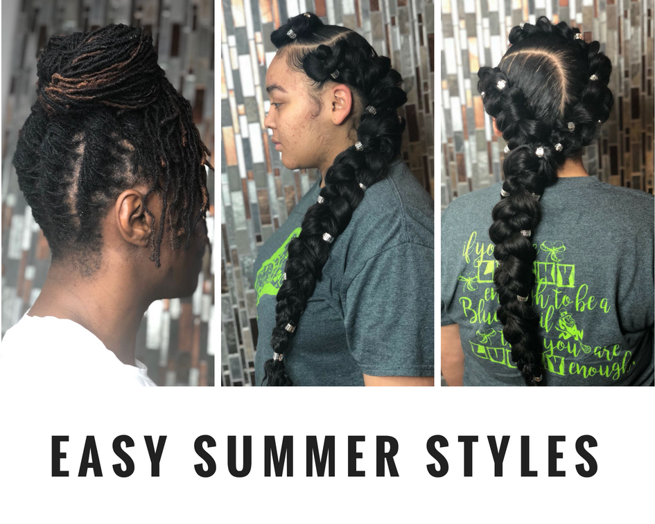 Easy Summer Hairstyles For Natural Hair