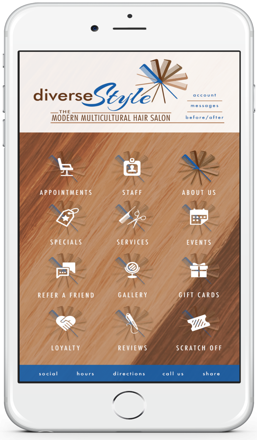 The DiverseStyle Mobile App