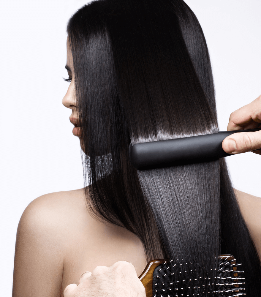 Keratin treatment at The Full Spectrum Hair Salon