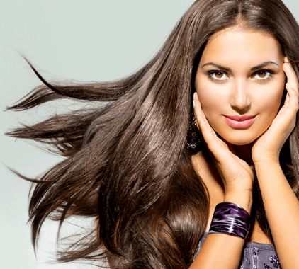 Hair Extentions at The Full Spectrum Hair Salon