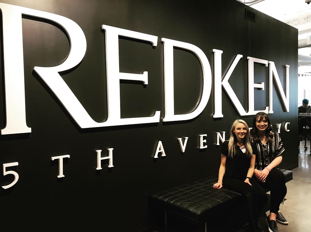 Panache's Alex & Brittany Attend Hair Color Class at Redken NYC!