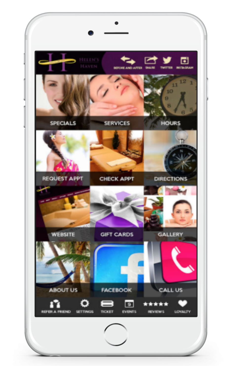 Simplify Your Wellness Plan with the Helen's Haven Mobile App